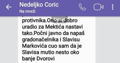 Nedeljko Ćorić, predsjednik Gradskog odbora SNSD Bijeljina
