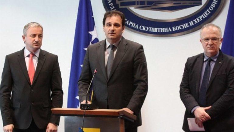 Vukota Govedarica, Dragan Čavić, Branislav Borenović