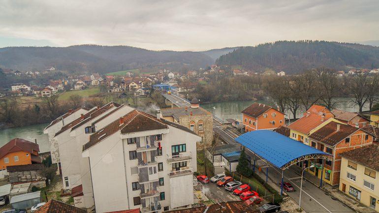 Granični prelaz između BiH i Hrvatske u Novom Gradu/ FOTO: GERILA