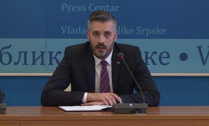 Ministar za naučnotehnološki razvoj, visoko obrazovanje i informaciono društvo Republike Srpske Srđan Rajčević