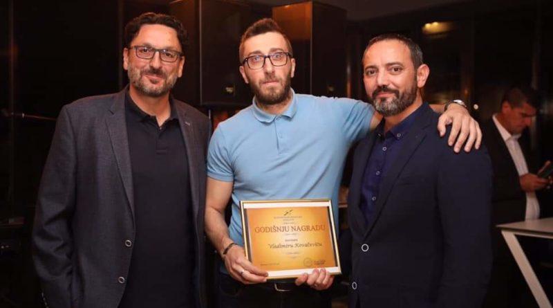 Novinar portala Gerila.info i BN televizije Vladimir Kovačević dobitnik godišnje nagrade Kluba novinara Banja Luka