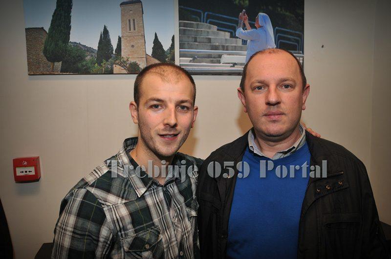Đorđe Bjelaković i Luka Petrović (FOTO: Trebinje059/arhiv)