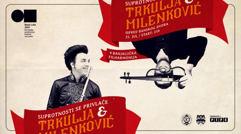 Spektakularni koncert Trkulja/Milenković povodom predaje aplikacije Banja Luka 2024