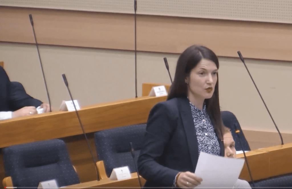 Jelena Trivić, poslanik PDP u NSRS