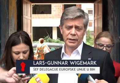 Ambasador Evropske unije u BiH Lars Gunar Vigemark