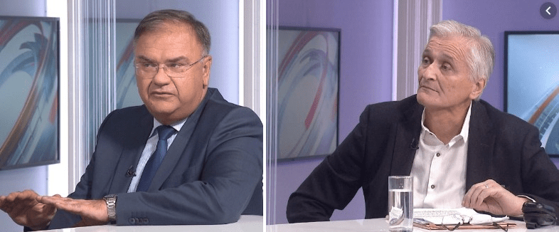 Mladen Ivanić i Nikola Špirić