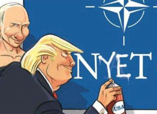 Nato-Tramp-Putin-karikatura