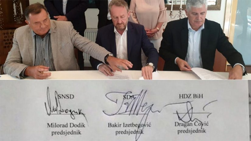 SDA-HDZ BiH-SNSD