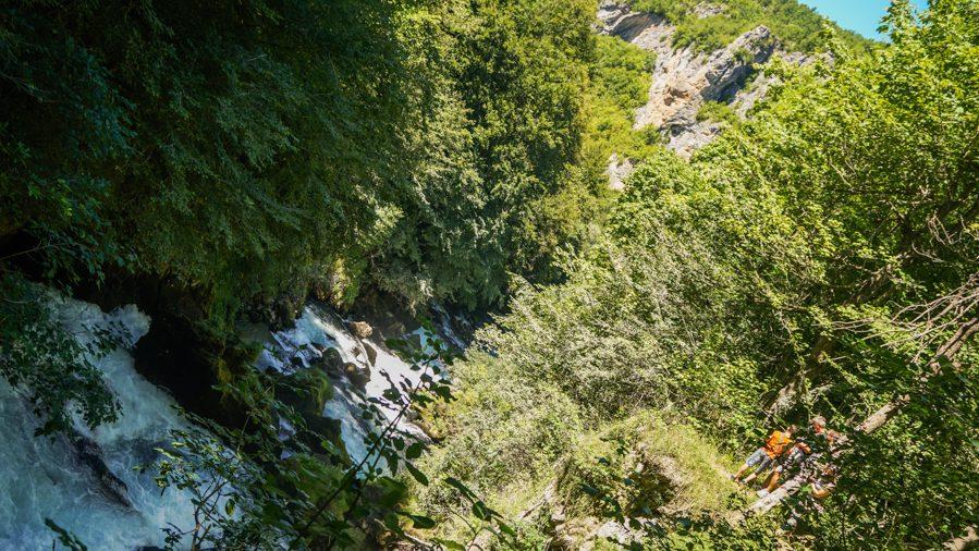 """Ovog kanjona i vodopada neće biti nakon izgradnje MHE """"Janjske otoke""""/FOTO: GERILA"""