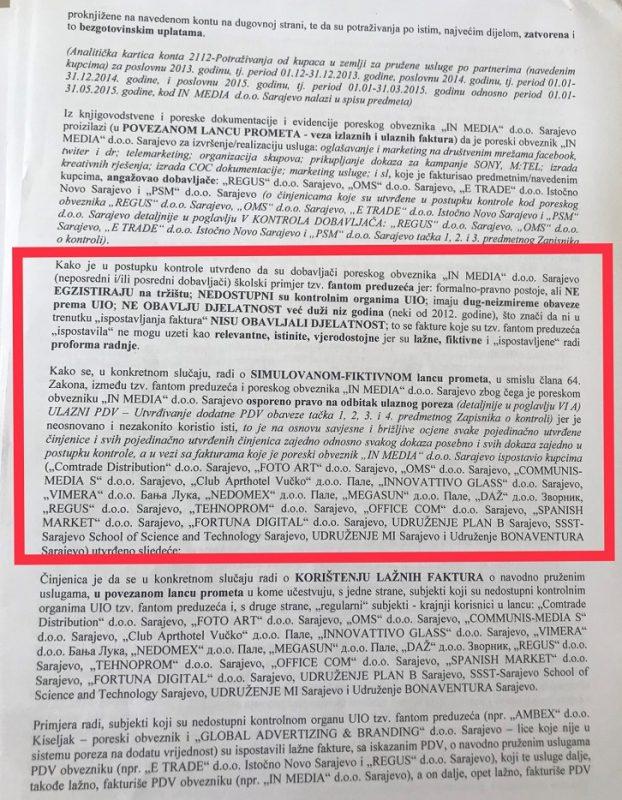Prijava protiv Gordana Memime