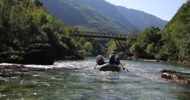 rafting rijekom Tarom