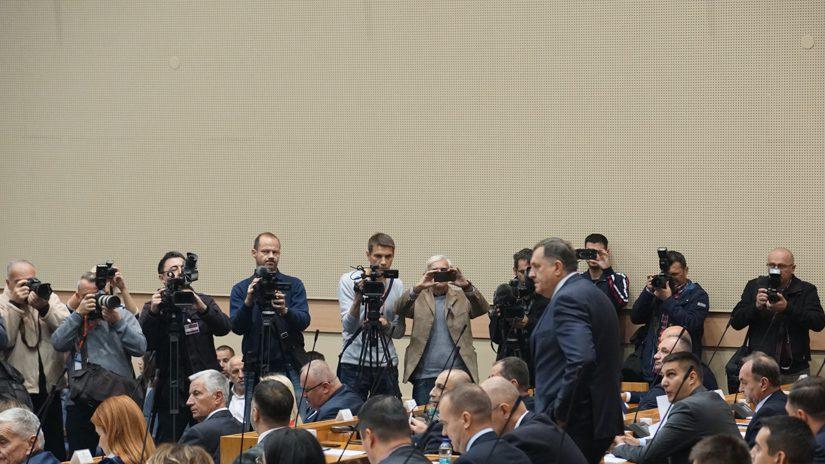 NSRS, mediji, Dodik i mediji, SNSD, Narodna skupština