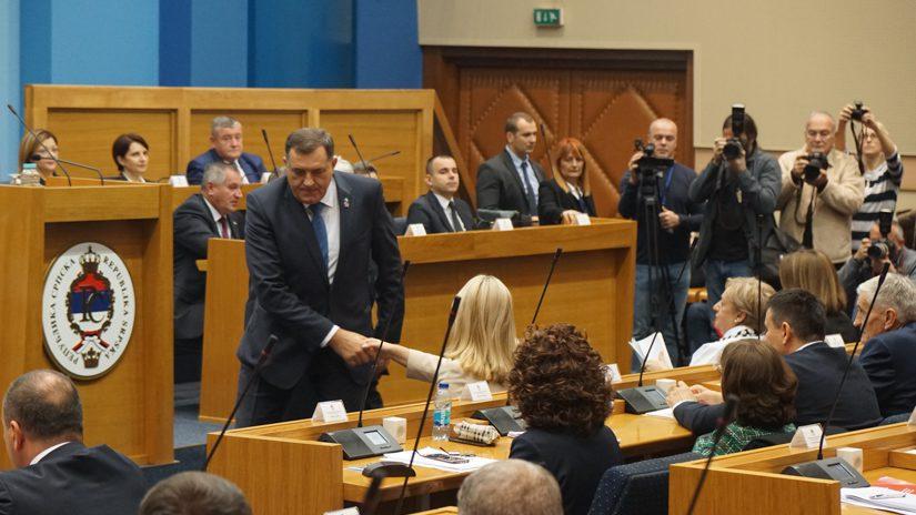 NSRS, Narodna skupština RS, predsjednik RS, srpski član predsjedništva BiH, Željka Cvijanović