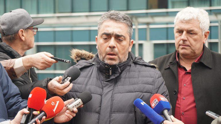 Božo Marić, predsjednik Sindikate Uprave RS/FOTO: GERILA.info