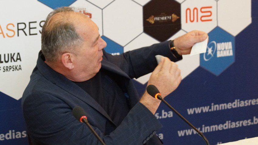 Dragan Mektić pocijepao člansku kartu BORS
