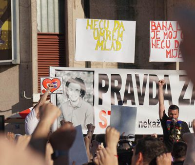 Pravda za Davida- protest u Banjaluci