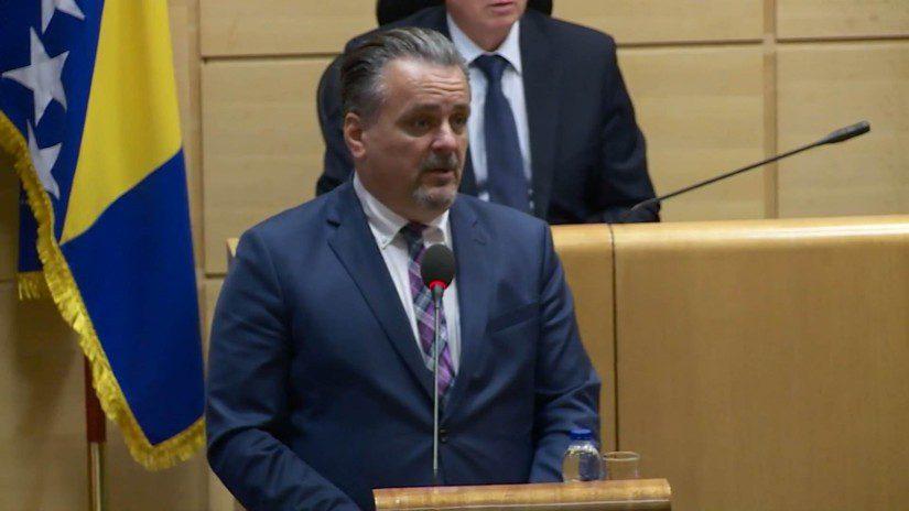Redžep Salić, smijenjeni direktor Zavoda Pazarić