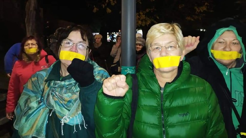 Pravda za Davida, Međunarodni dan ljudskih prava, žute trake