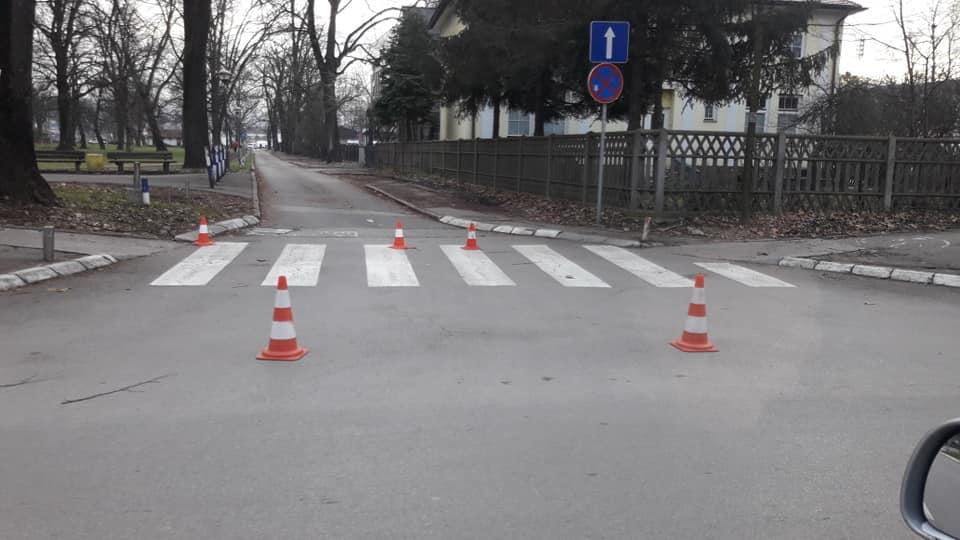 Policija Republike Srpske blokirala sve pristupe parkingu u Parku Mladen Stojanović