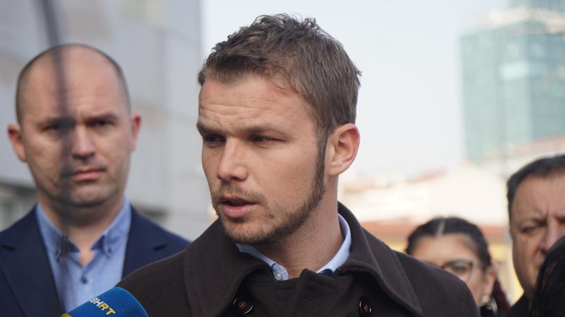 Draško Stanivuković pred Okružnim javnim tužilaštvom / FOTO: GERILA