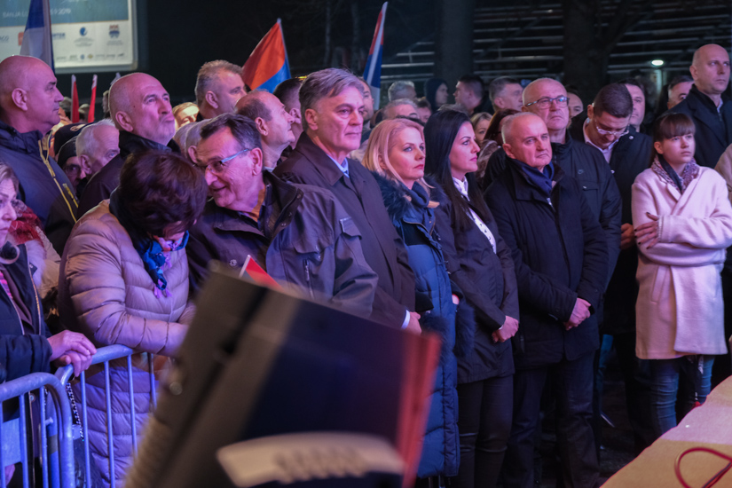 Kontramiting boračkih organizacija 26.12.2019. / FOTO: GERILA
