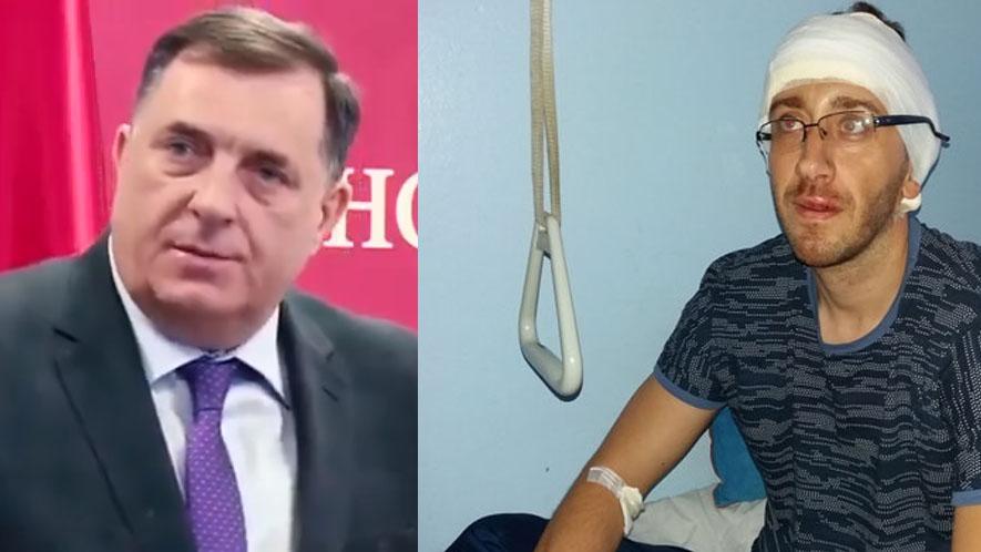 Milorad Dodik verbalno napao novinara Vladimira Kovačevića