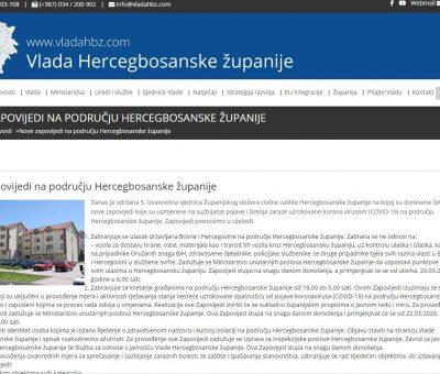 Kanton 10 zabranio pristup građanima BiH
