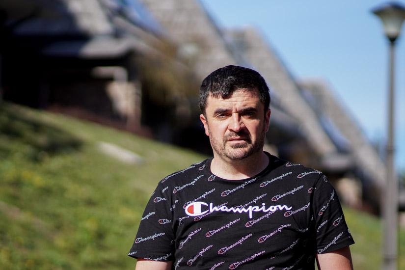 Željko Prpić, upravnik Fly fishing Pliva/ foto: Gerila