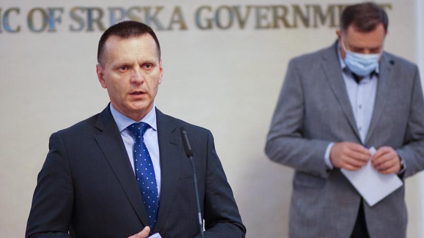 Dragan Lukač i Milorad Dodik / FOTO: GERILA