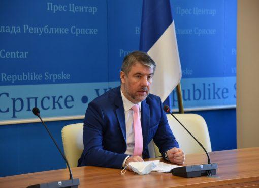 ALen Šeranić, ministar zdravlja i socijalne zaštite Republike Srpske