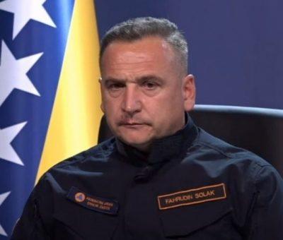 Fahrudin Solak, direktor Federalne uprave Civilne zaštite