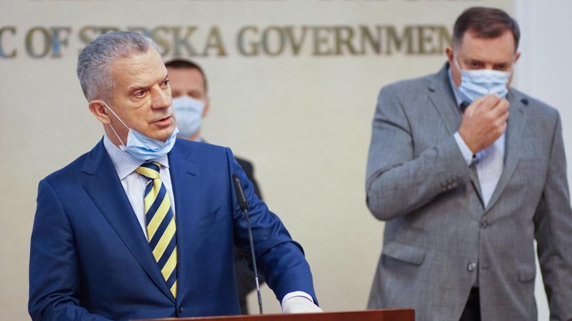 Fahrudin Radončić i Milorad Dodik / FOTO: GERILA