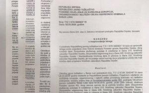 Zora Vidović- naredba o nesprovodjenju istrage