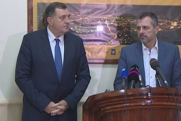 Milorad Dodik i Igor Radojičić