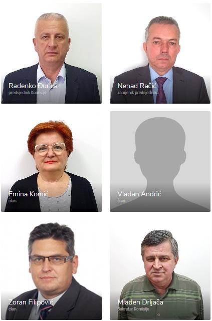 Sastav Komisije za koncesije