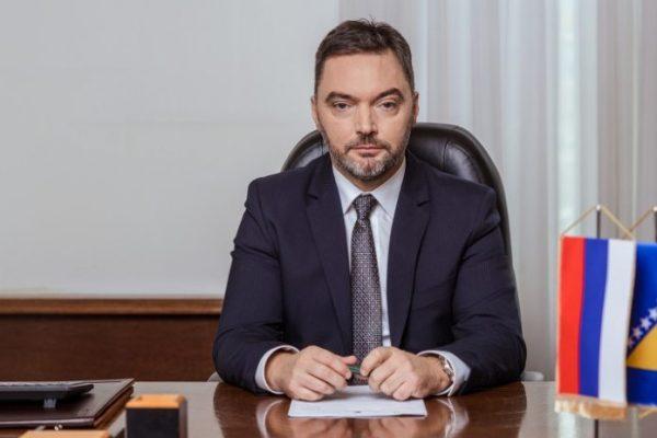 Staša Košarac, ministar