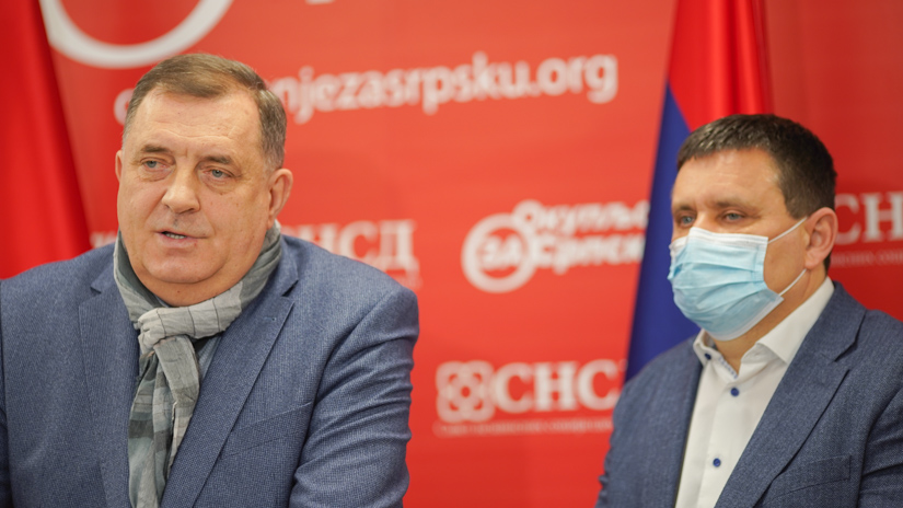 Milorad Dodik i Vlado Đajić / FOTO: GERILA