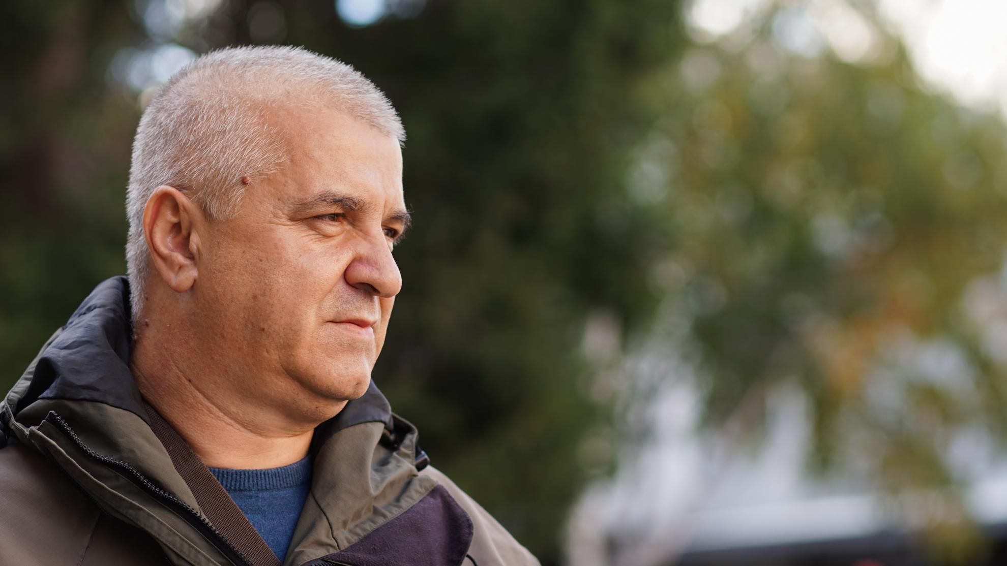 Indir Melić, predsjednik Sportsko-ribolovnog društva Travnik