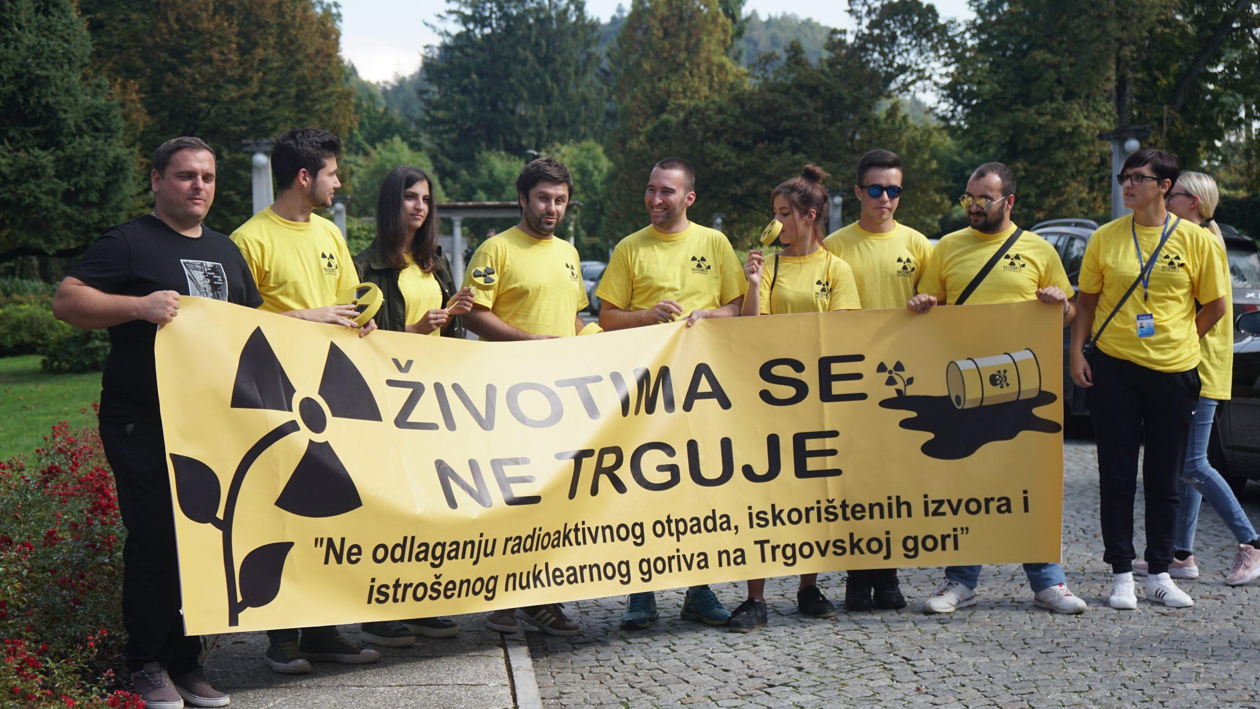 Aktivisti GREEN TEAM Novi Grad na Bledu 30. Septembra, 2019/FOTO: GERILA