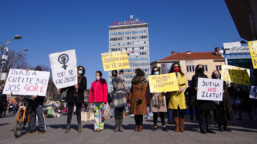 Osmomartovski marš / FOTO: GERILA